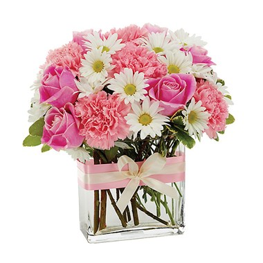 Pink 'n pretty flower bouquet (BF173-11KM)